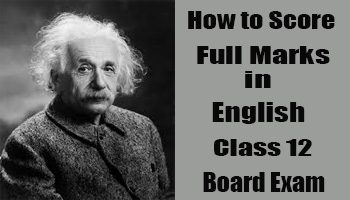 How to Score Full Marks in English Class 12 Board Exam