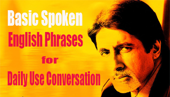 24 Basic Spoken English Phrases for Daily Use Conversation
